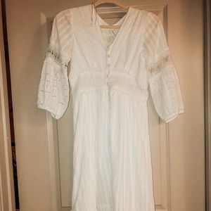 White Ebba eyelet dress NWT!! Send me an offer!